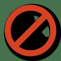 icono Prohibido Mascotas Casa Maribona