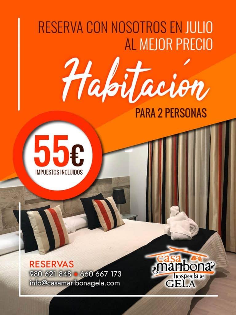 oferta julio Casa Maribona